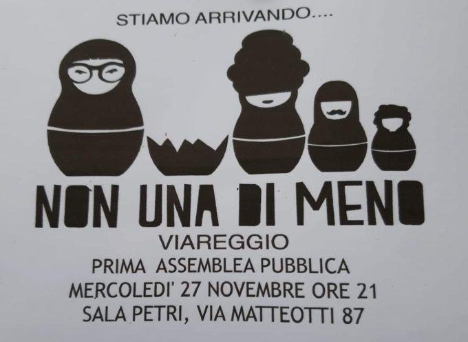 Non Una di Meno – Prima Assemblea Pubblica domani sera a Viareggio