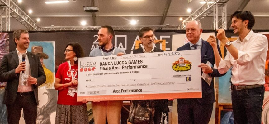 Lucca Comics & Games 2019 Dall'Area Performance Onlus oltre 41mila euro in beneficenza