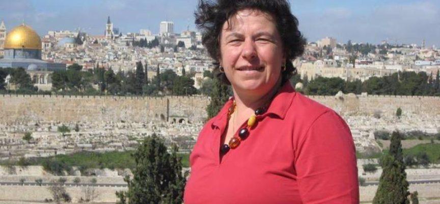 in Palestina cerimonia di intitolazione della sede della Misericordia di Betlemmea Maria Pia Bertolucci