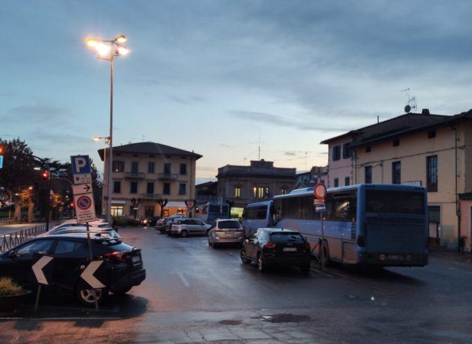 Dal 21 Dicembre niente più bus in sosta di notte e nei festivi in piazza XX Settembre a Pescia.