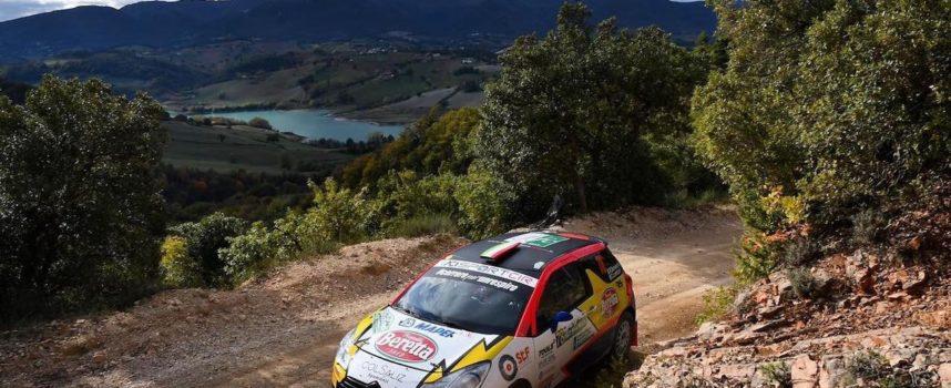 Rachele Somaschini dell' RS Team, corre al X° Tuscan Rewind su strade sterrate a Siena