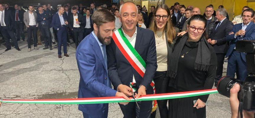 Taglio del nastro per la Comoli Ferrari Inaugurata una nuova sede nell'area artigianale delle Bocchette
