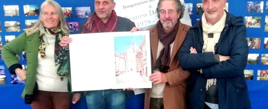 Una mostra per i 40 anni di attività dell'artista pesciatino Franco Del Sarto