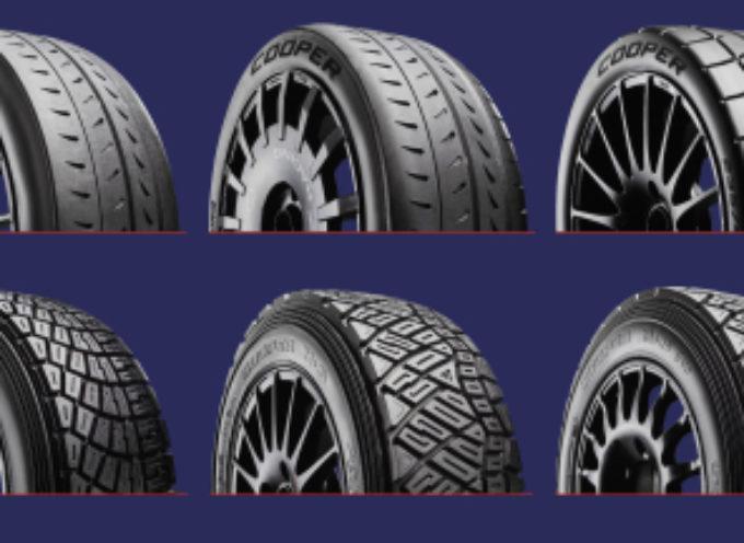 Cooper Tire Europe lancia una nuova gamma completa di pneumatici da rally per asfalto, asfalto classico, da sterrato e da neve
