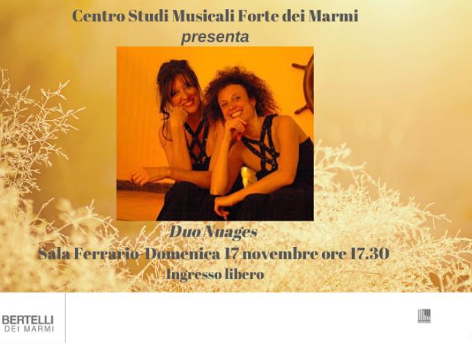 Il Centro Studi Musicali Forte dei Marmi presenta: Duo Nuages in: Flujendo