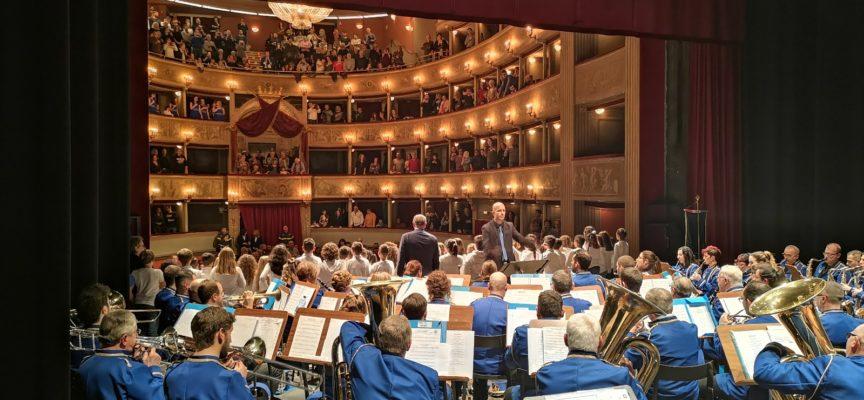 """Il Corpo Musicale """"Giacomo Puccini"""" di Nozzano è la banda ufficiale del Comune di Lucca."""