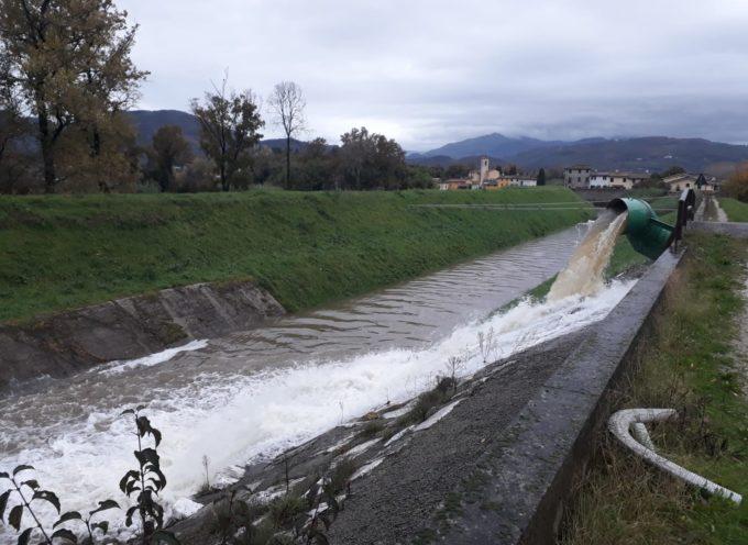 allerta Meteo TOS,interventi e monitoraggi del Consorzio sui corsid'acqua d iLucca e della Piana