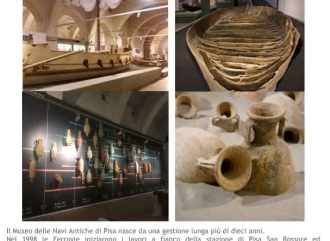 Istituto Storico Lucchese-Sezione Versilia Storica: gita al Museo delle Navi Antiche di Pisa