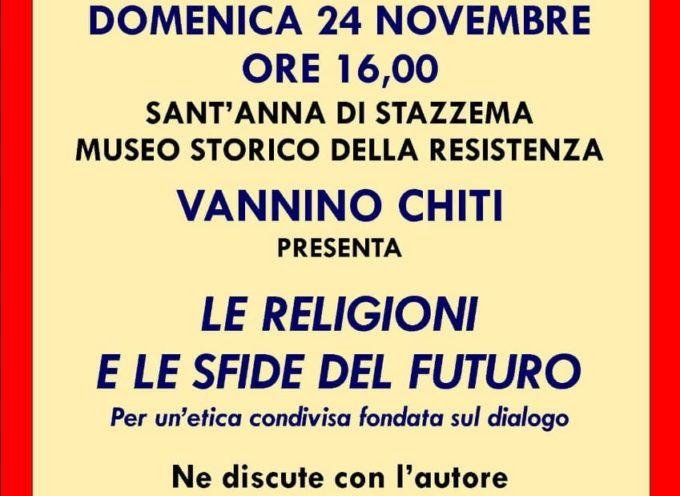 """Museo Storico della Resistenza – Presentazione del libro """"Le religioni e le sfide del futuro"""" di Don Armandondo Zappolini"""