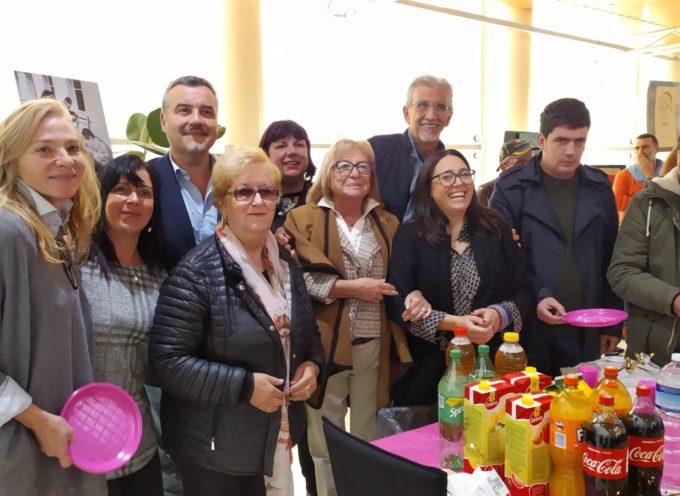 """Il sindaco di Porcari Leonardo Fornaciari inaugura """"L'immaginario svelato"""" del Centro diurno La Bricola"""