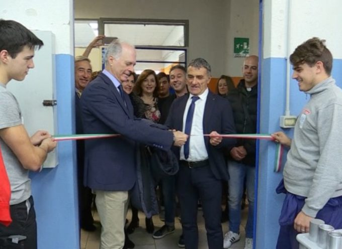 Inaugurati due laboratori al Vecchiacchi e al Simoni