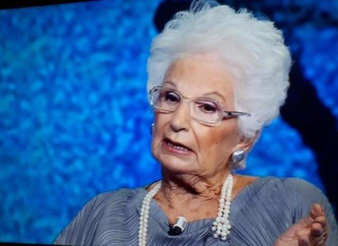 """La senatrice Liliana Segre risponde a Giurlani """"Onorata del suo invito"""""""