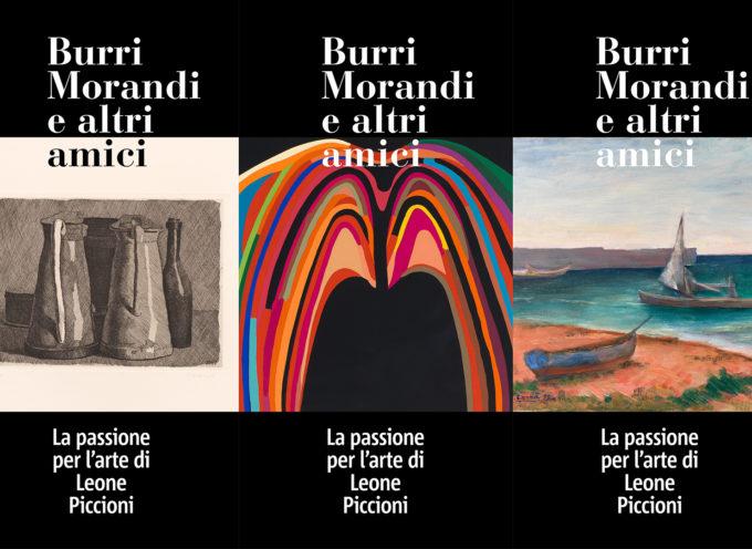 Villa Bertelli proroga fino al 1 marzo 2020 la mostra, Burri Morandi e altri amici. La passione per l'arte di Leone Piccioni