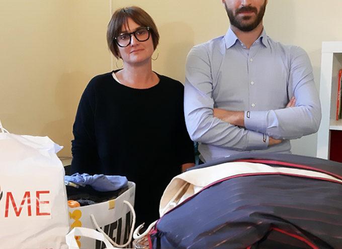 LU.ME. in consegna:all'associazione Luna Onlus abiti per donne e bambini tutelati dalla struttura che opera contro la violenza