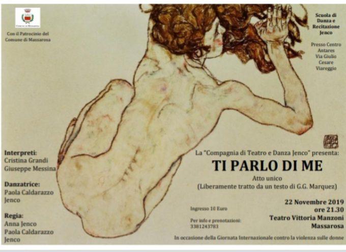 MASSAROSA – Uno spettacolo teatrale per celebrare la Giornata contro la violenza sulle donne