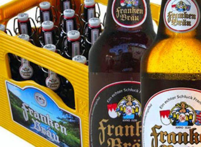 Birra tedesca con detergenti: ritirate anche in Italia 17 birre Franken Bräu