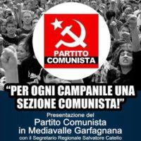 Partito Comunista: presentazione a Borgo a Mozzano (LU)