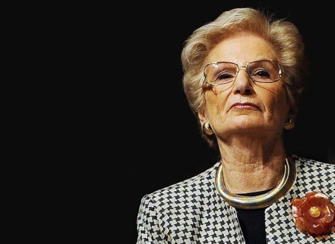 Il comune di Pescia scrive alla senatrice Liliana Segre