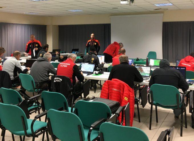 Corso di Mantenimento per i Tecnici della Ricerca del Soccorso Alpino Toscano