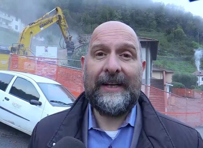 Abbattuto il Palazzo Comunale di Fabbriche di Vallico
