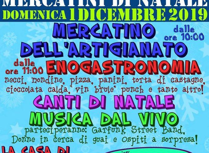 Mercatini di Natale, a Castiglione di Garfagnana il 1 dicembre