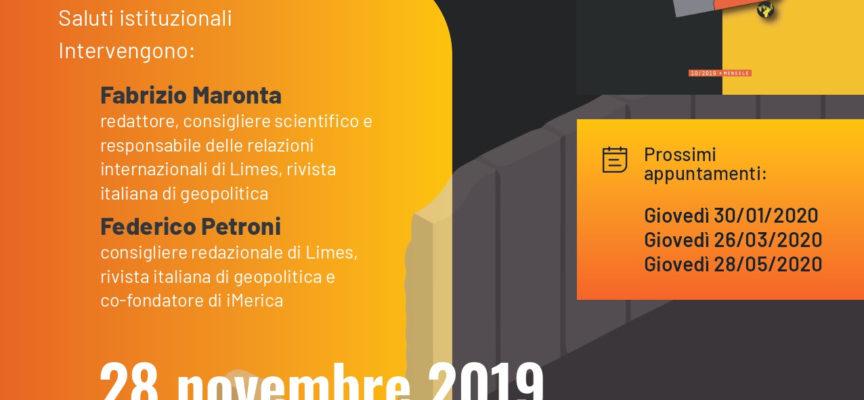 Secondo appuntamento con LIMES AUDITORIUM PALAZZO DELLE ESPOSIZIONI