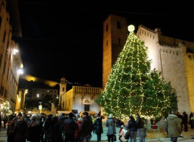 acceso il grande abete in Piazza Duomo, un mese di eventi formato famiglia