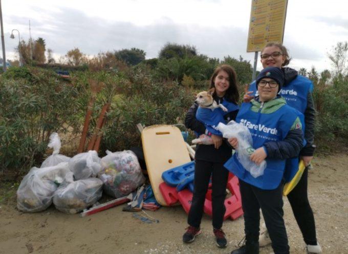 """PIETRASANTA – volontari """"Fare Verde"""" puliscono la spiaggia,"""