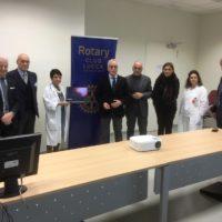 Il Rotary Club di Lucca dona strumenti informatici ed audiovisivi per il Pronto Soccorso di Lucca