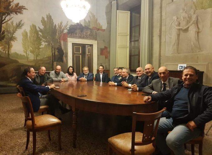 Capigruppo della Lega, eletti nei Comuni della Provincia, incontrano il Prefetto, Dott. Francesco Esposito