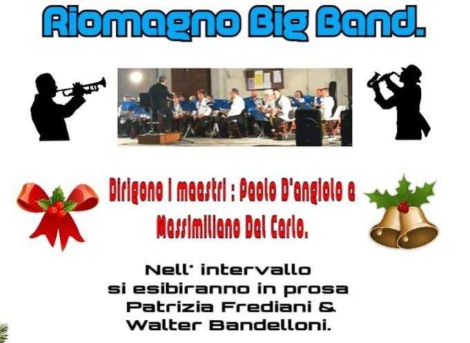 Seravezza, giovedì 19 dicembre – La Pro Loco e la Filarmonica Riomagno Big Band organizzano il Concerto di Natale