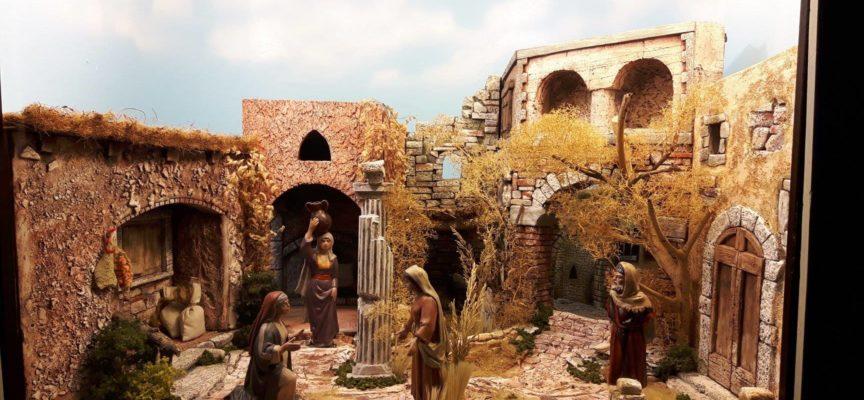 presentazione del presepe della parrocchia del Centro Storico di Lucca nella chiesa di san Michele in Foro