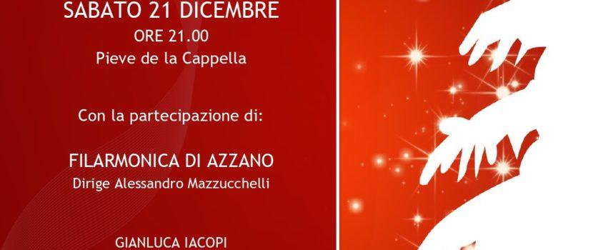 """Azzano, La Cappella, 21 dicembre – Concerto di Natale """"Insieme 2019"""""""