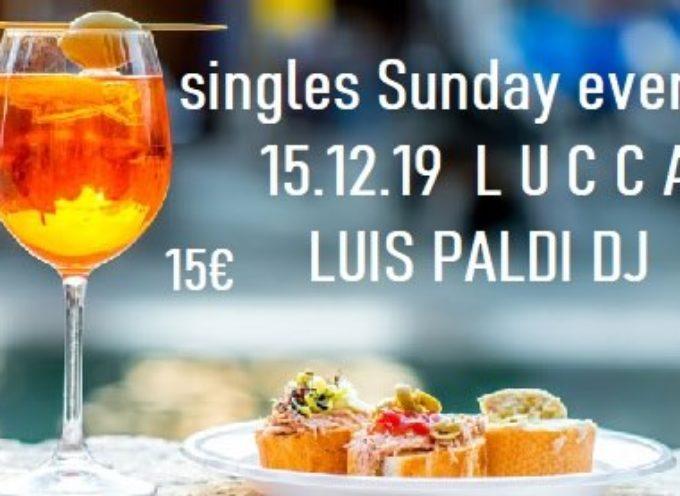 La domenica sera dei single apericena e disco