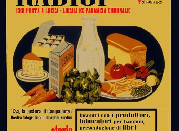 """La condotta Slow Food Versilia ed il Cro di Porta a Lucca propongono a Pietrasanta, dal 6 al 15 dicembre, una manifestazione dal titolo """"RADICI:"""