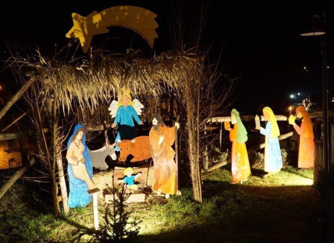 pontecosi – domenica si puo' visitare il presepe nella  grotta di san Magno