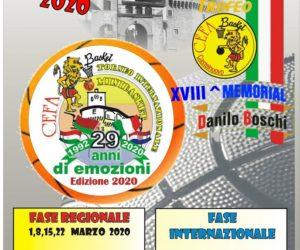 Al Via la 29^ Edizione del Torneo internazionale di Minibasket CEFA –
