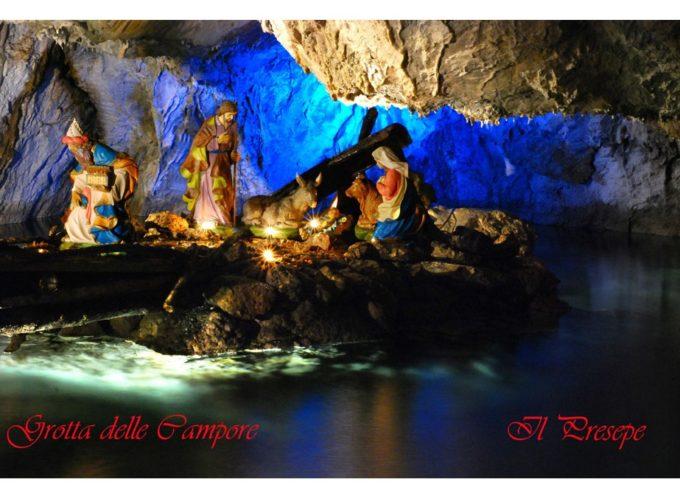 aperto il presepe in grotta dal 7 dicembre  A CONVALLE DI PESCAGLIA
