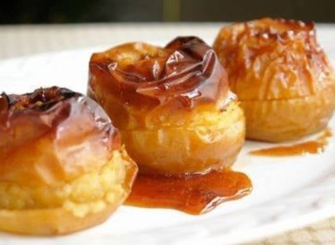 Le ricette tipiche: le mele cotte nel foro.