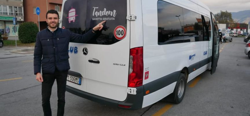 Tandem, la nuova navetta che collega Marlia-Capannori-San Leonardo, sta funzionando bene!