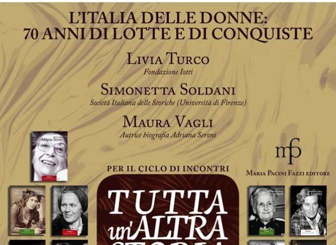 L'Italia delle donne:70 anni di lotte e di conquiste