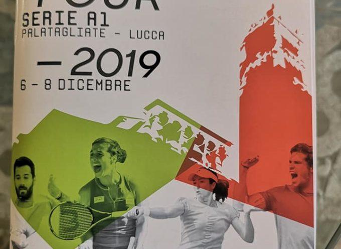 Il Palatagliate di Lucca ospita per il secondo anno consecutivo, le finali di campionato di serie A1 maschili e femminili di Tennis