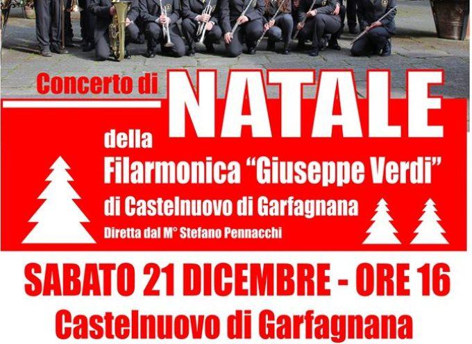 concerto di natale a Castelnuovo di Garfagnana