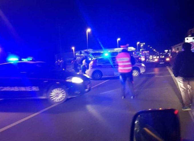 Incidente sull'Aurelia, tra Pietrasanta e Ponterosso
