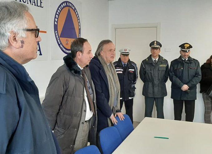Il nuovo Prefetto di Lucca Dott. Francesco Esposito ha fatto visita questa mattina, in garfagnana