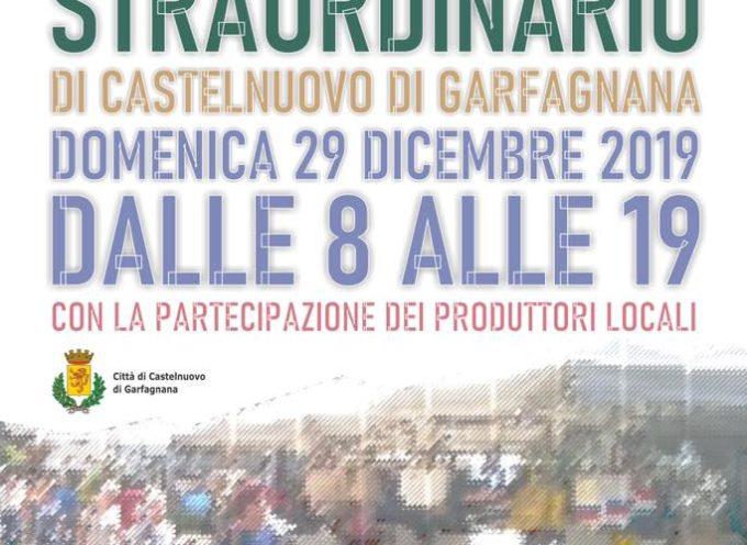 CASTELNUOVO DI GARFAGNANA – Domenica 29 Dicembre MERCATO STRAORDINARIO dalle 8 alle 19.