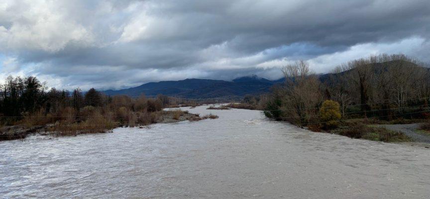 Lunigiana: non si registrano al momento criticità sebbene le piogge intense abbiano fatto salire i livelli dei corsi d'acqua.