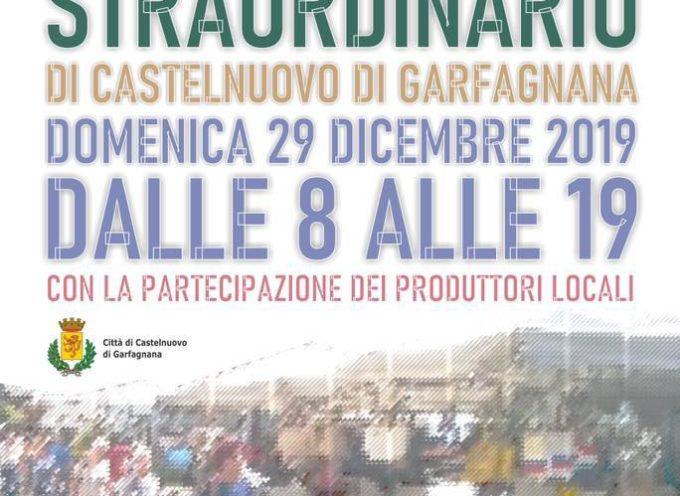 CASTELNUOVO DI GARFAGNANA – DOMANI MERCATO STRAORDINARIO