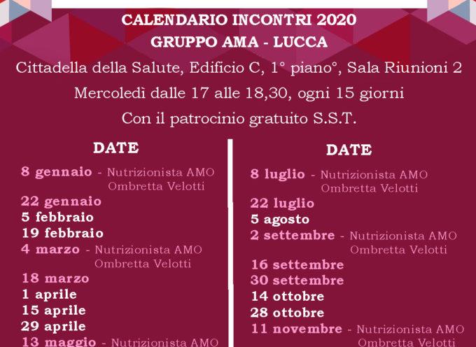 AMA calendario 2020 – LUCCA
