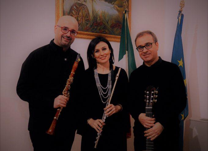 """L'ArmoniEnsemble Guitar Trio chiude la decima edizione degli """"Incontri Musicali – i luoghi del bello e della cultura"""""""
